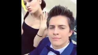 Repeat youtube video Kelli Berglund with Billy Unger and Spencer Boldman in the Lab Rats Bionic Island set!