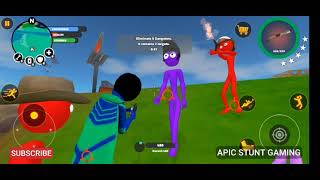 Stickman Superhero gta Enemies Fighting with Boss & Try will win Unbelievable Gameplay Android & iOS screenshot 3