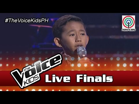 "The Voice Kids Philippines Season 3 Live Finals: ""Salamat"" by Joshua"