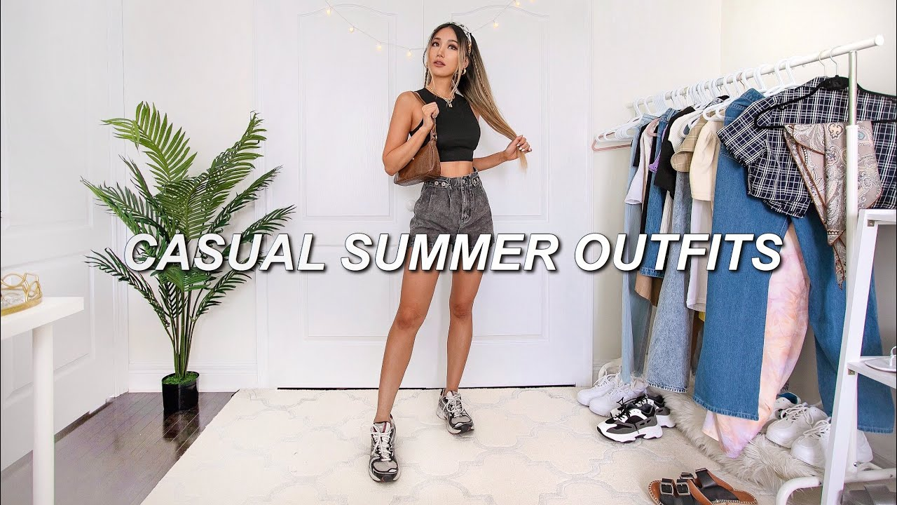 CASUAL SUMMER OUTFITS 🌞| fashion style lookbook 2020