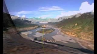 Flying RNP Into Linzhi Tibet Aboard An Air China B757