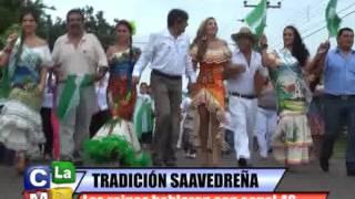 REINAS  DE LA PROVINCIA OBISPO SANTISTEVAN EN EL DÍA DE LA TRADICION DE SAAVEDRA