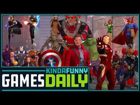 What Happened to Marvel Heroes w/Anthony Gallegos - Kinda Funny Games Daily 11.27.17