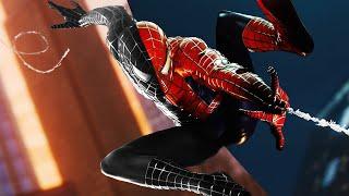 Spider-Man PS4 Black Raimi Suit Transformations