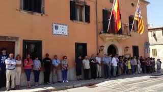 Minut de silenci per les víctimes de Barcelona i Cambrils