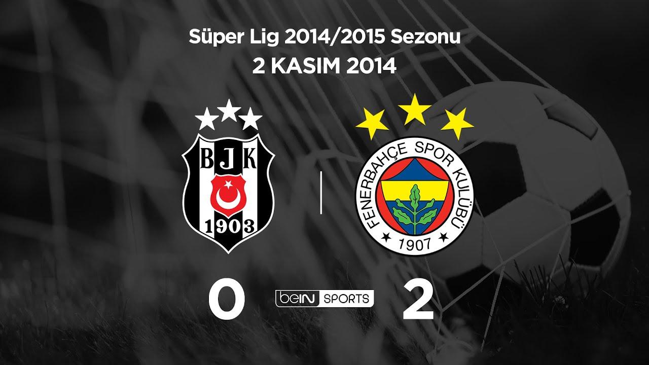 2.11.2014 | Beşiktaş-Fenerbahçe | 0-2