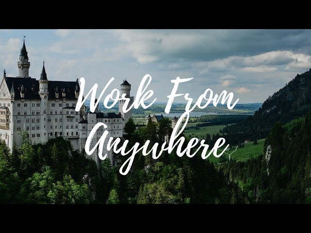 How to work from anywhere in the world [QUICK TIPS] | How to use the cloud