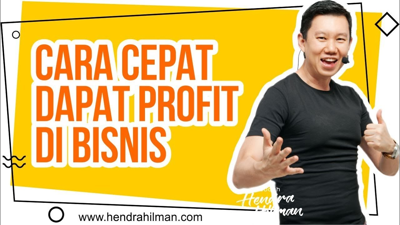 Cara cepat dapat profit forex