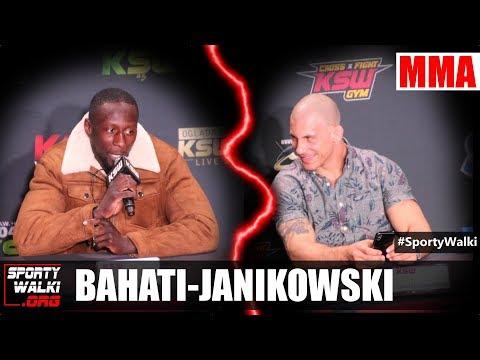 KSW. Wojna na słowa: Damian Janikowski vs Yannick Bahati. Wideo