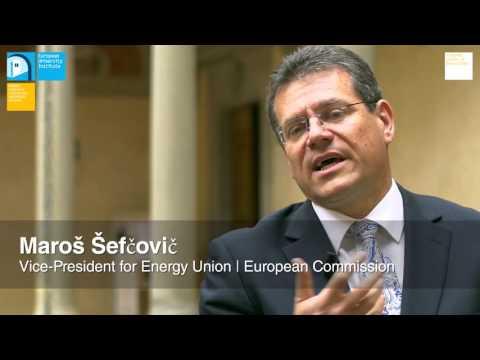 Maroš Šefčovič   External Dimension of the Energy Union