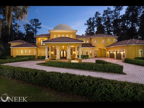$4 Million Dollar Palace located in Lake Mary