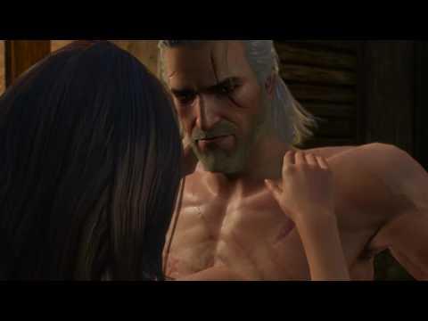 Witcher 3 - бордель секс с Бертой. (18 +)