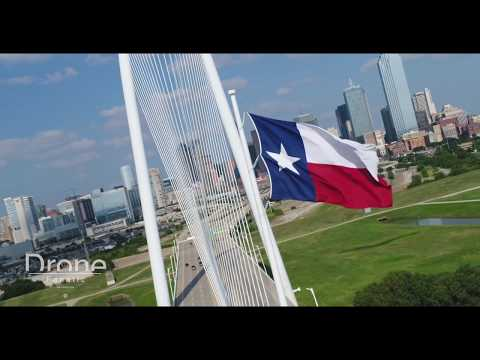 Dallas Drone Aerial Skyline