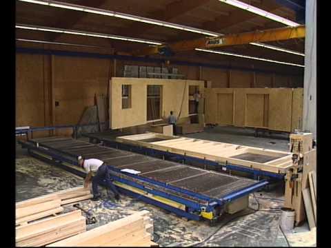Fjorborg-Holzhäuser von Merlin - Einblick hinter die Kulissen - YouTube