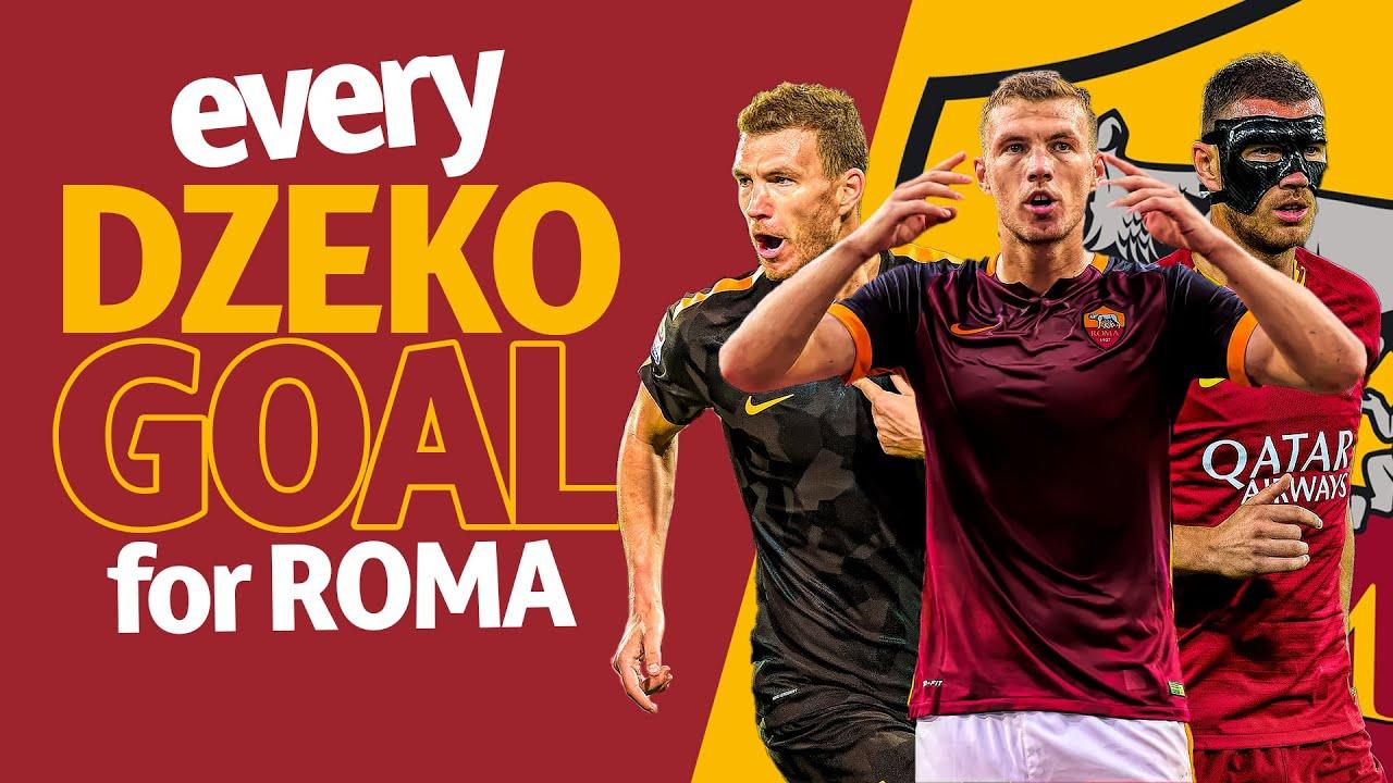 EDIN DZEKO | Tutti i gol fatti finora con la Roma!