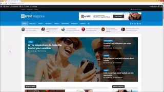Working With Modules - Herald WordPress Magazine Theme