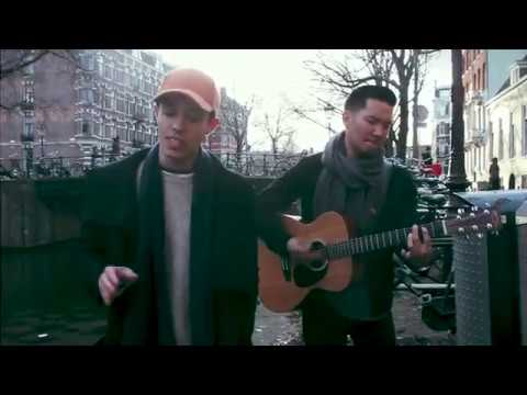 BRUNO MARS - Versace On The Floor [Cover by Leroy Sanchez] LIVE from Amsterdam