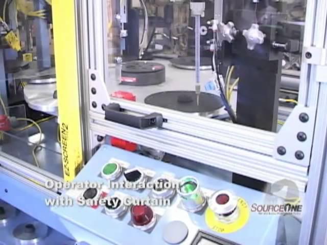 SourceOne Diaphragm Glue Machine