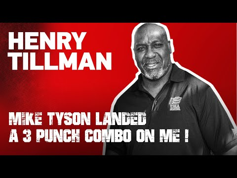 henry tillman on the 3 punch combo mike tyson landed on him EsNews Boxing