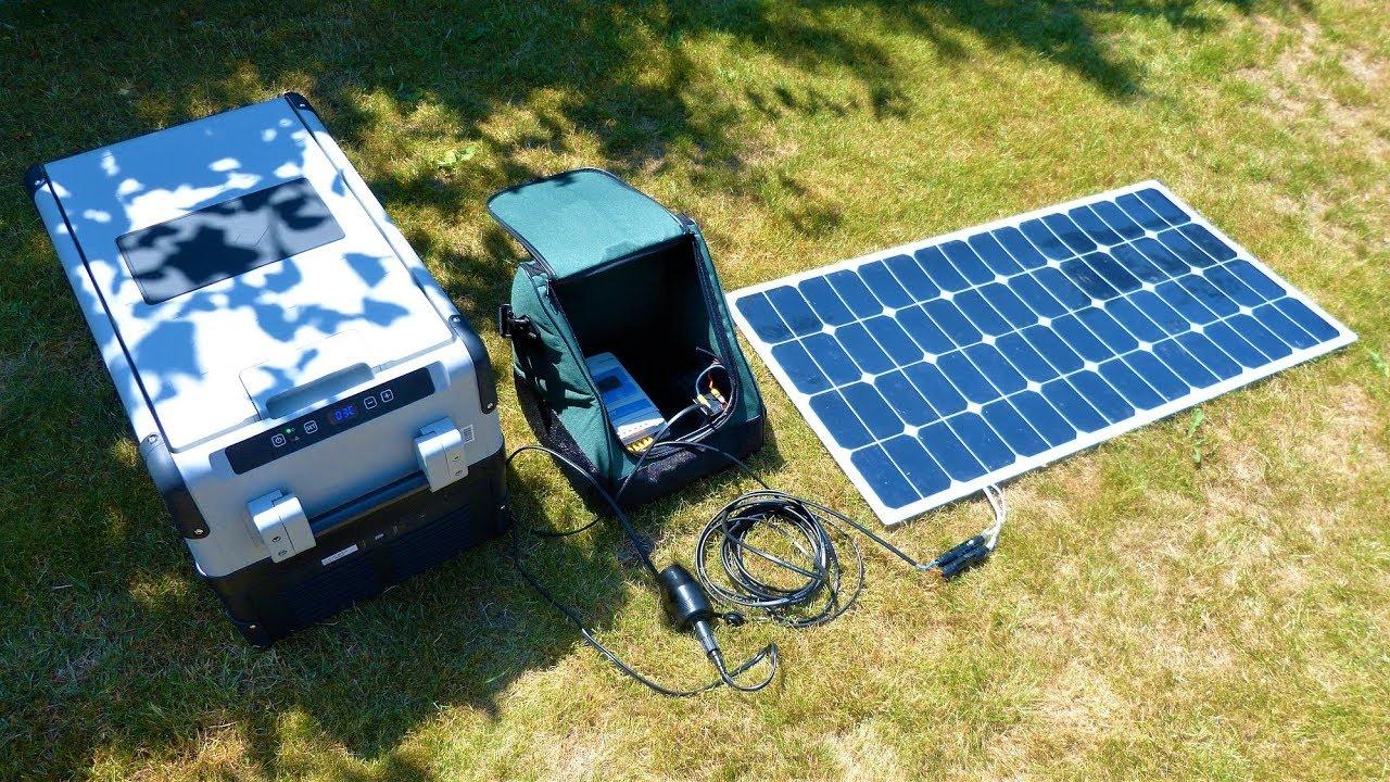 Auto Kühlschrank Solar : Kühlbox mit solarpanel betreiben ganz einfach mit der ferropilot