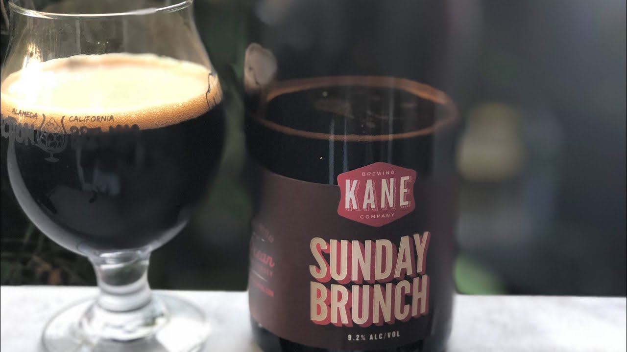 beer review 90 kane brewing sunday brunch youtube