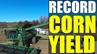World Record Corn Yield (2015): David Hula - 532 bushels Genesis Ag