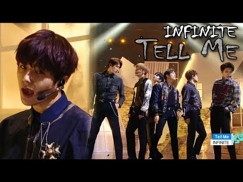 [Comeback Stage] INFINITE - Tell Me, 인피니트 - 텔미 Show Music core 20180113