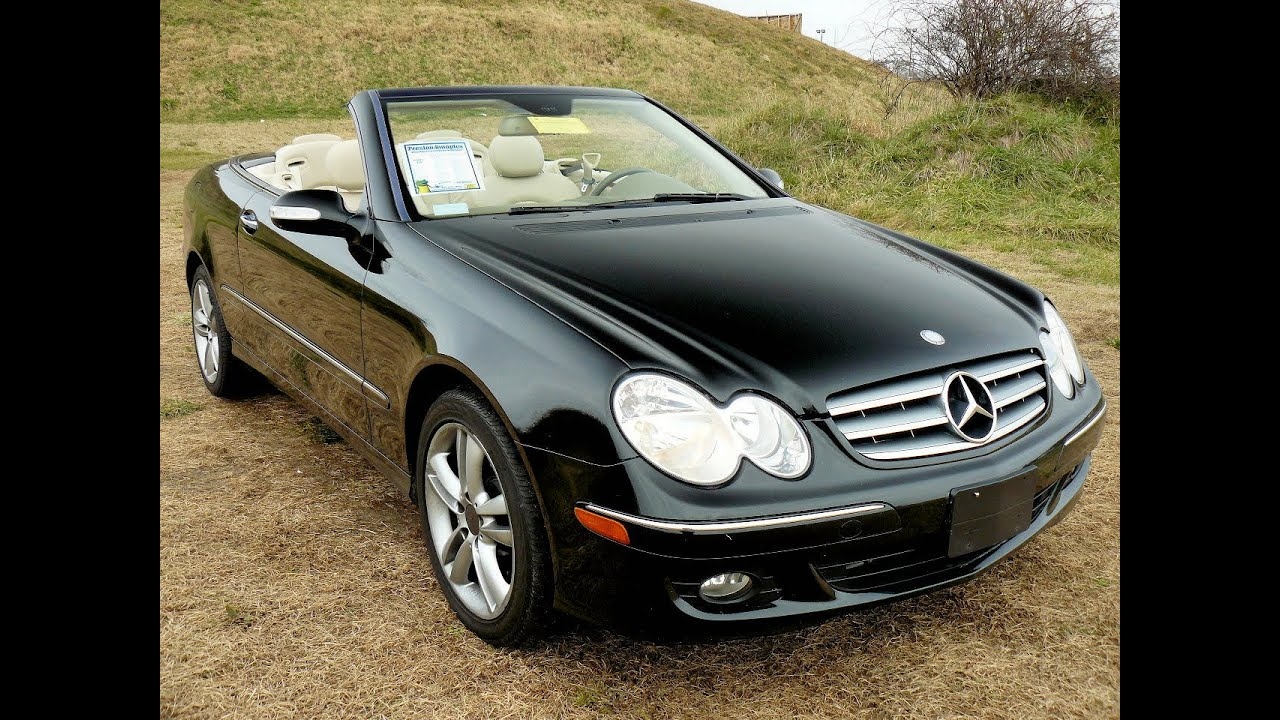 convertible mercedes benz for sale 350 clk maryland