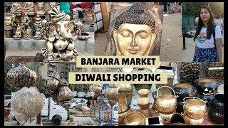 Diwali Shopping in Banjara Market Gurgaon |Place For Home decors & Furniture 😍😍