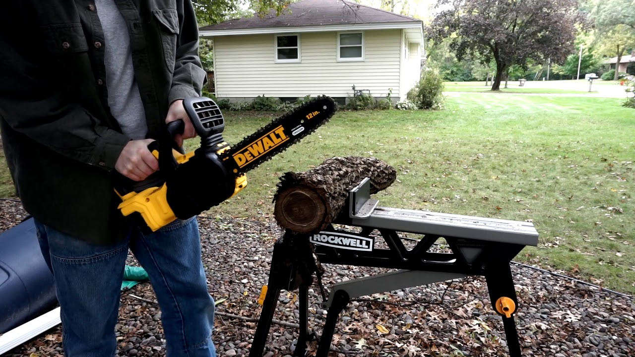 Review: Dewalt 20V Max Brushless Chainsaw, and How I Was