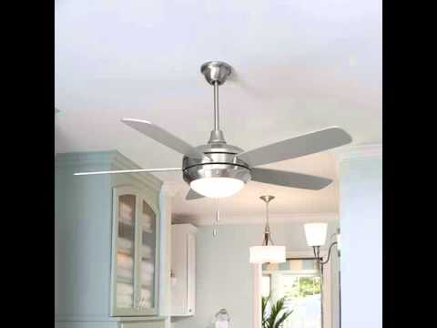Modern Fan With Light Modern Ceiling Fans YouTube