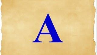 Английский алфавит Урок 1 Буквы A E Lesson 1 letters A E