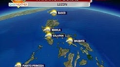 BP: GMA weather update as of :PM (Feb.24,2014)