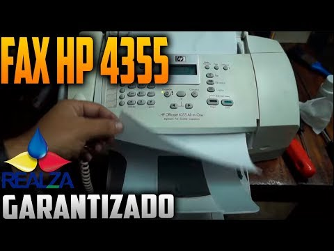 Mantenimiento Hp Officejet 4355