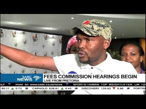 The Fees Commission begins public hearings in Pretoria