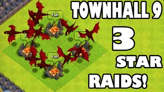 Clash of Clans - TOWN HALL 9 CHAMPION 3 STAR RAIDS? Low Level TH Trophy Pushing! The Last Video?