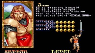 Knights Of The Round (Arcade/Capcom/1991 Arthur) [HD]