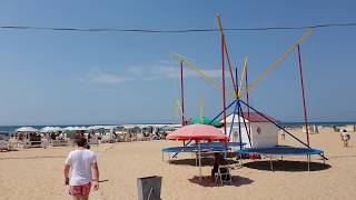 Анапа. Погода. 27.07.2018 Вилла ла мелия, Тихий Дворик, Sea Breeze Resort, Хуторок - Пляж Кавказ