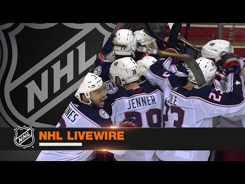 NHL LiveWire: Blue Jackets, Capitals mic'd up for dramatic Game 2