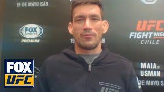 Demian Maia talks to UFC Tonight | INTERVIEW | UFC Tonight