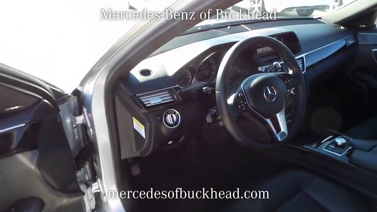 sold used 2013 mercedes benz e350 at mercedes benz of buckhead p7159 youtube. Black Bedroom Furniture Sets. Home Design Ideas