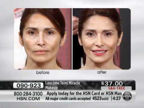 Lancome Teint Miracle Makeup - YouTube