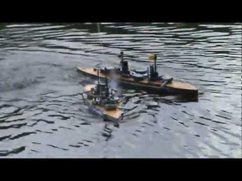 SMS Kaiser vs SMS Westfalen