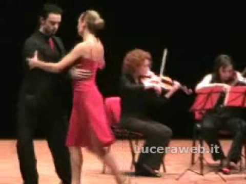 Il Tango della gelosia - Quartetto Melica e ballerini.wmv