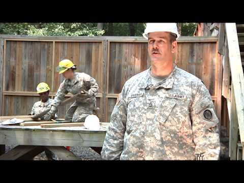 244th engineers hammer out repairs (Video 2)