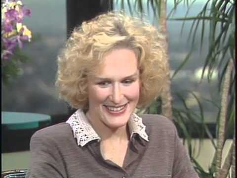 Glenn Close on Dangerous Liaisons