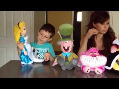 Disney Alice in Wonderland plush doll review