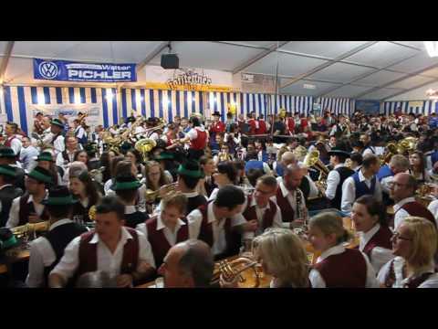 Gesamtspiel Bezirksmusikfest 2016