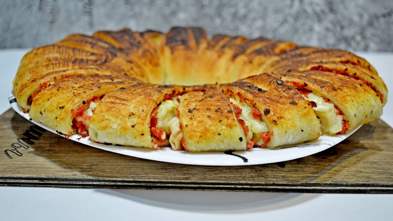 Рецепты рулет с колбасой