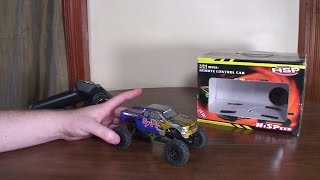 HSP - 1/24th Scale Mini Crawler (94480) - Review and Rock Crawl